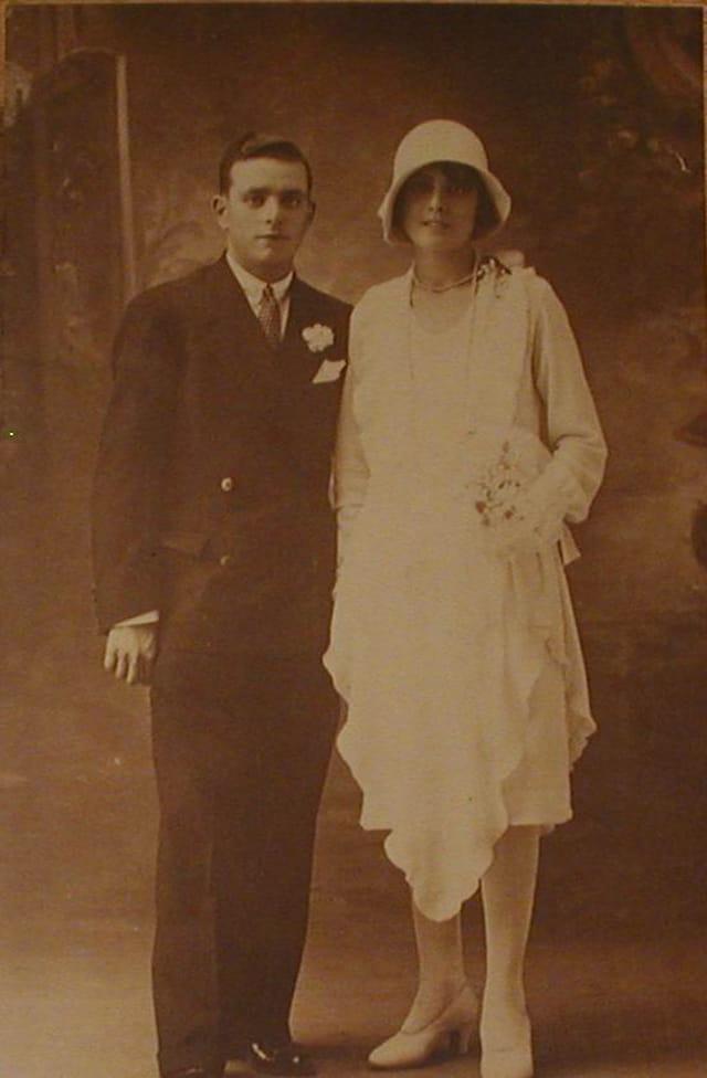 Le mariage des grands parents