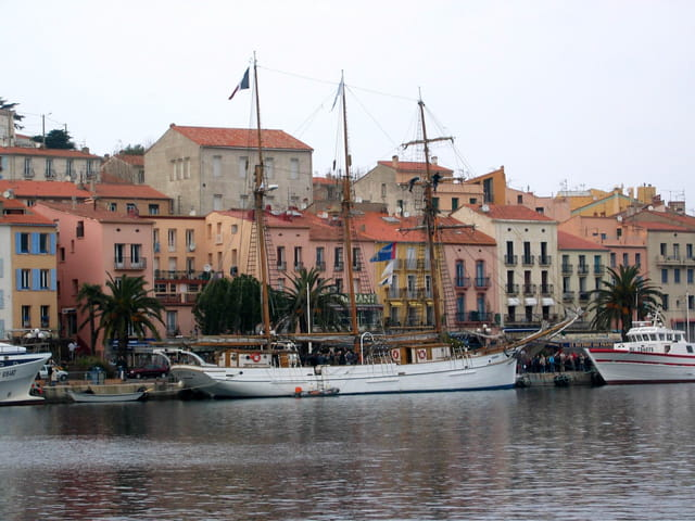 Le Marité à Port-Vendres