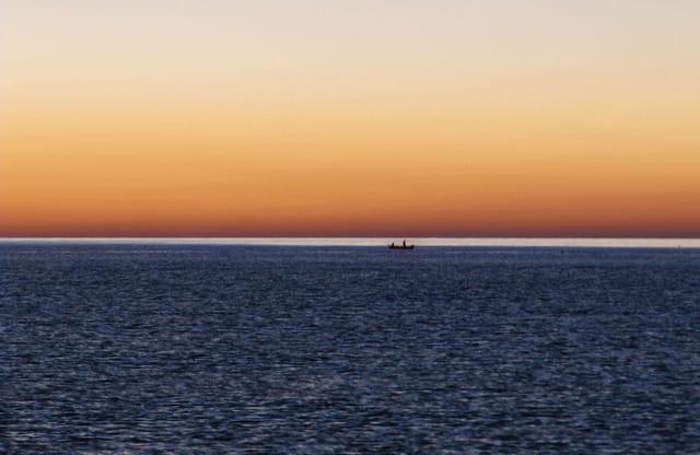 le matin bleu..
