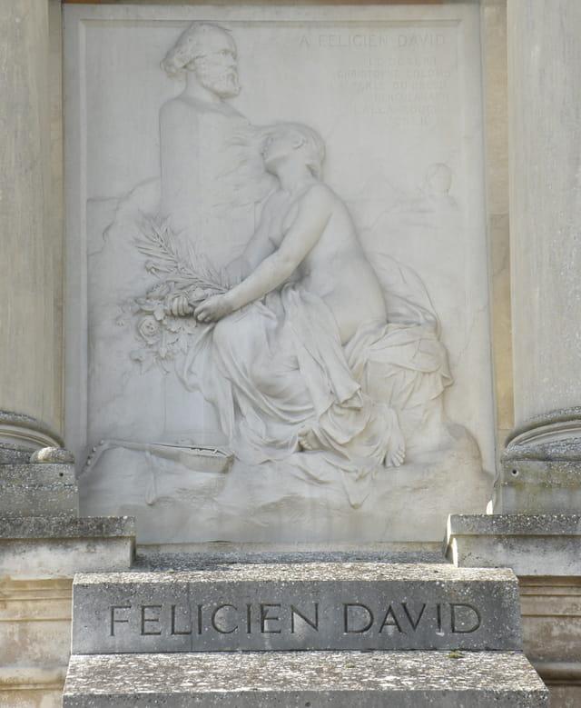 Le mausolée de Félicien David, au Pecq