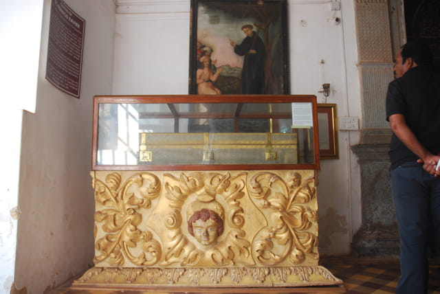 le mausolée de saint François Xavier