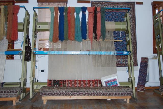 Le métier à tisser les tapis
