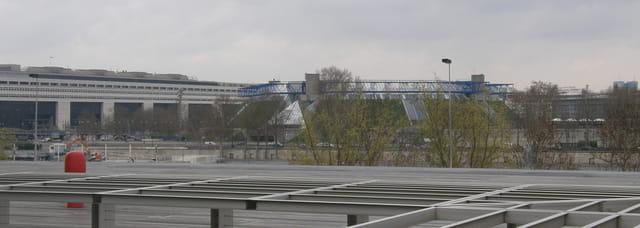 Le Ministère des Finances et le Palais omnisports Paris Bercy