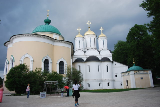 le monastère de la Transfiguration du Sauveur