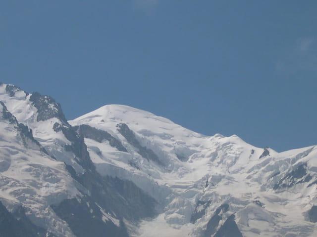 Le Mont-Blanc, les bosses