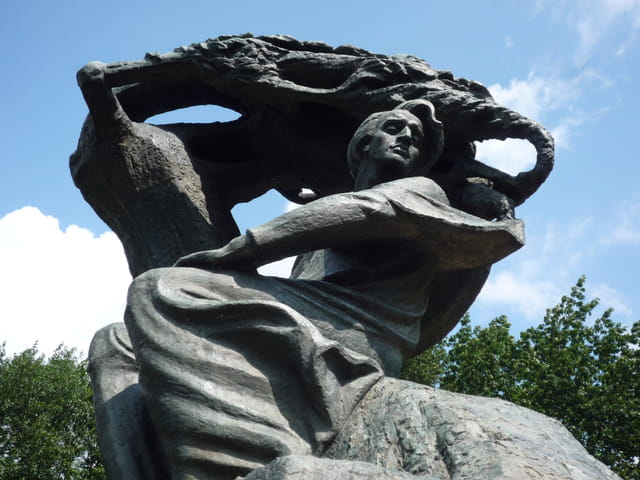 Le monument de Frédéric Chopin