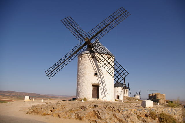Le moulin de don quichotte