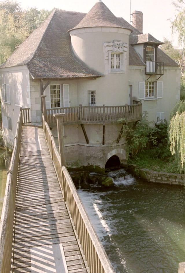 Le moulin reconstruit