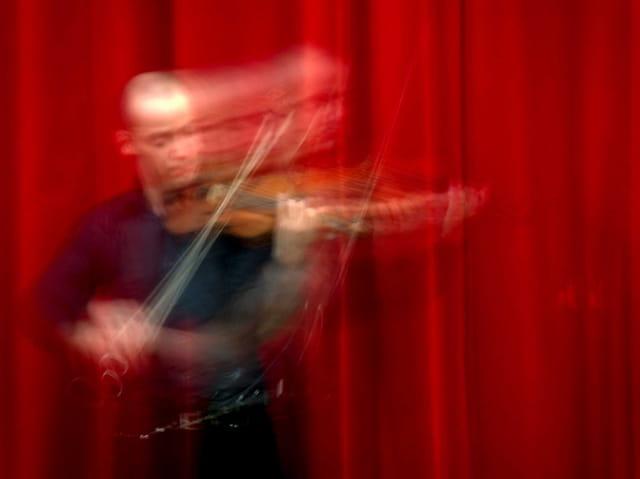 Le mouvement du violoniste