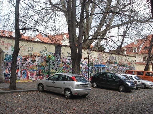 Le mur de John Lennon-Prague