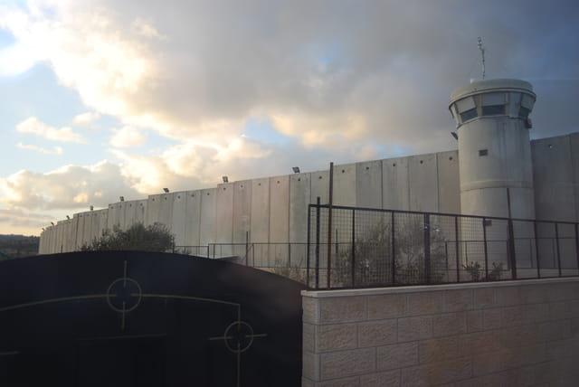 le mur de séparation Israël Palestine