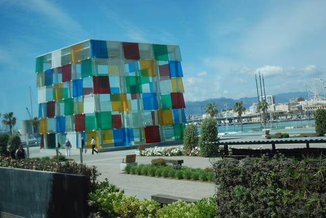 """le musée Pompidou dit """"le Cube"""""""