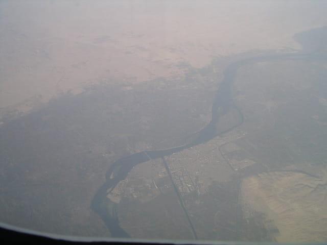 Le Nil vu du ciel