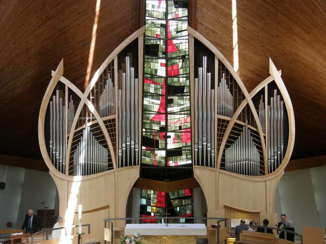 Le nouvel orgue de St Thibaut Marly-le-roi / Le Pecq