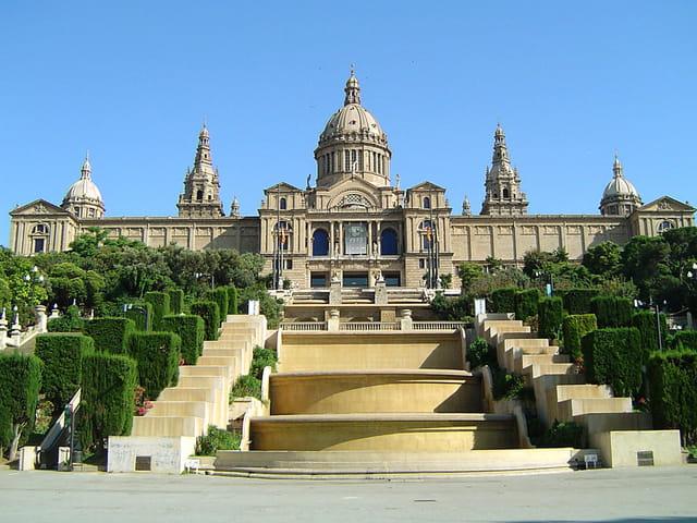 Le palais de barcelone
