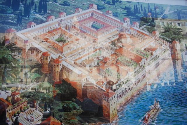 le Palais de l'Empereur Romain Dioclétien