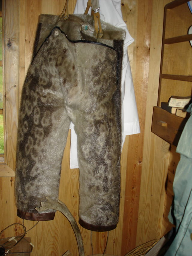 Le pantalon en peau de phoque