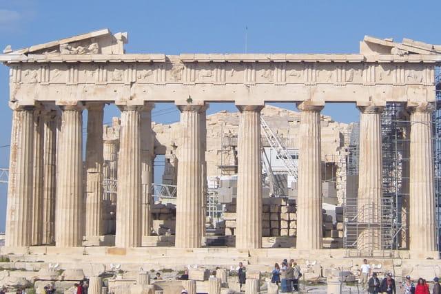Le Parthénon, joyau de l' Acropole