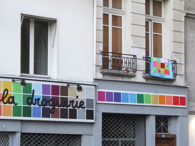 Le patchwork gagne l'immeuble!