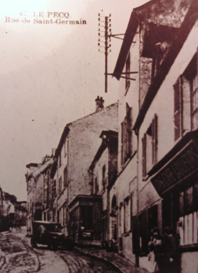 Le pecq en 1920