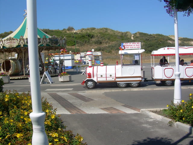 Le petit train de fort-Mahon