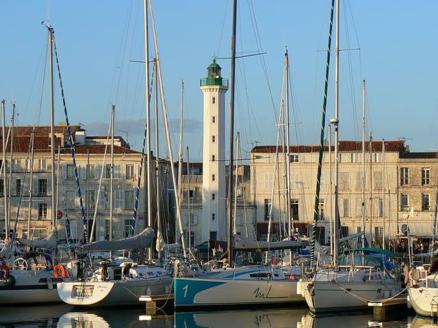 Le phare a La Rochelle