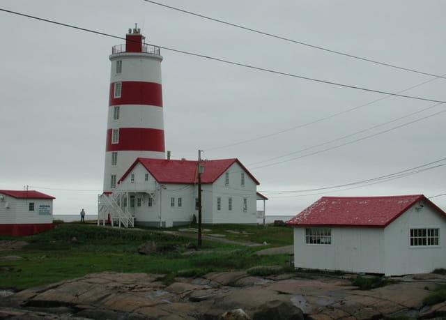 Le phare à pointe des monts