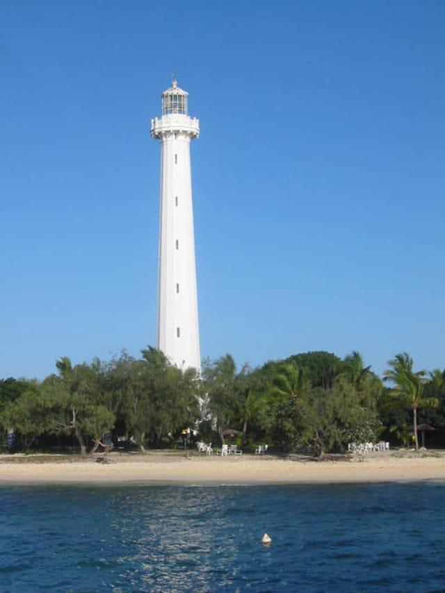 Le phare amédée. nouvelle calédonie