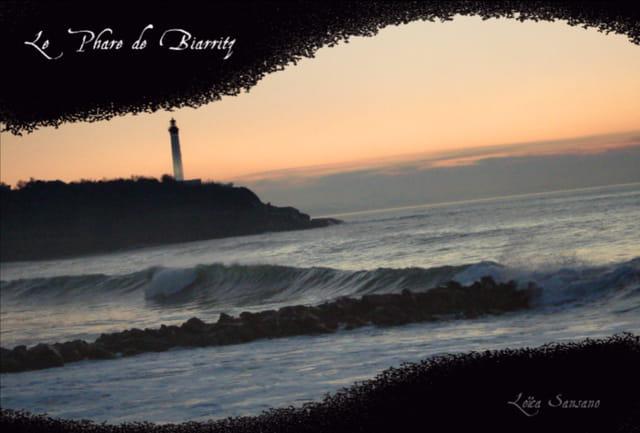 le phare de biarritz par loli lol sur l 39 internaute. Black Bedroom Furniture Sets. Home Design Ideas