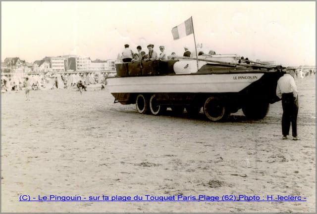 Le Pingouin, sur la plage du Touquet Paris Plage