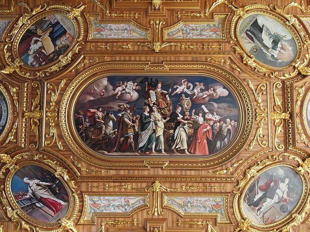 Le plafond d'or