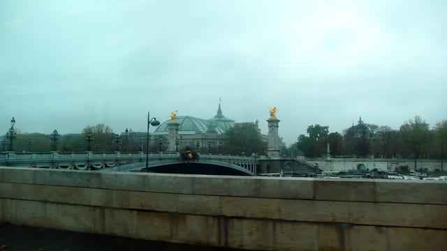 Le pont Alexandre et le Grand Palais