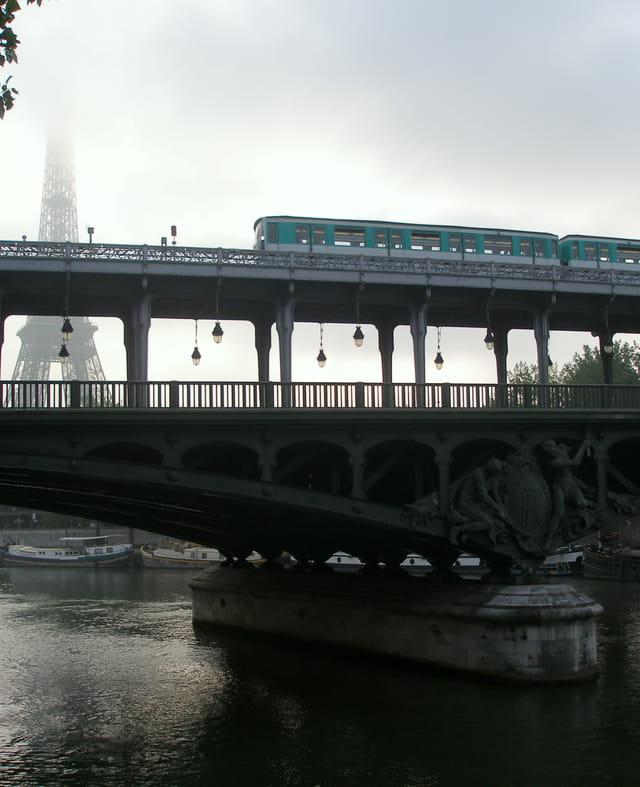 Le pont de Bir-Hakeim
