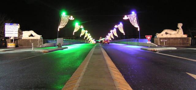 Le pont du Pecq en décembre 2007