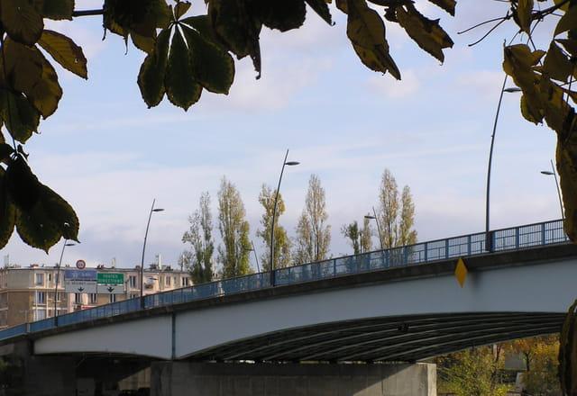 Le pont du Pecq (Pont Georges Pompidou)