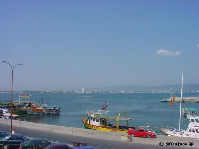 Le port avec vue sur Sunny Beach