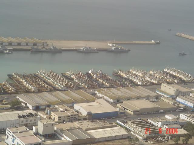 Le port d'Agadir