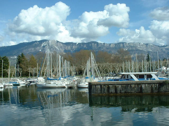 Le port d'Aix-les-bains