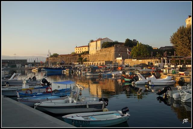 Le port d'Ajaccio...