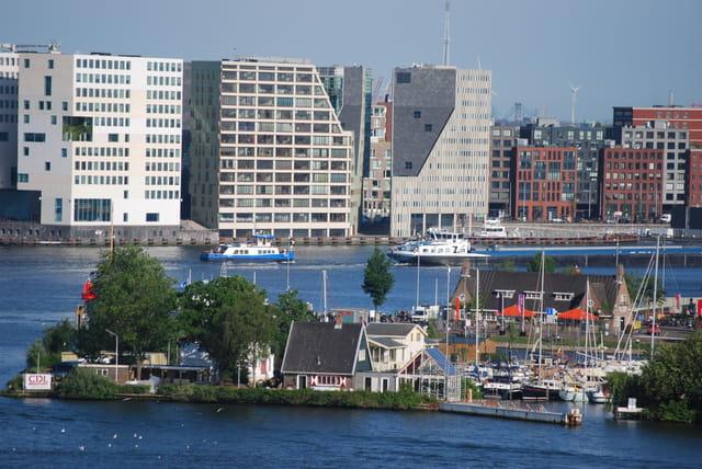 le port d'Amsterdam