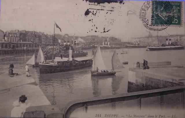 Le port de dieppe (1920)