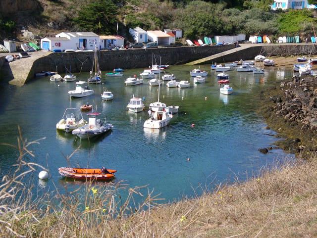 Le port de la Meule à Yeu
