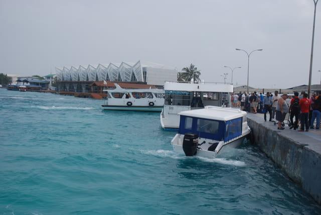 le port de Malé
