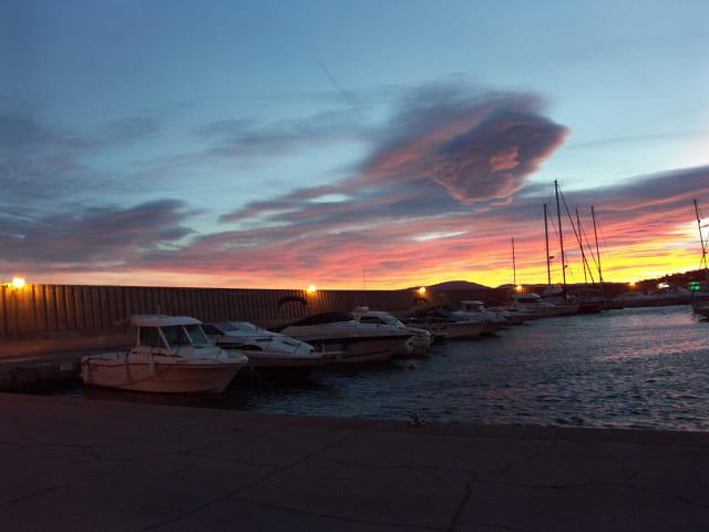 Le port de Sainte-Maxime