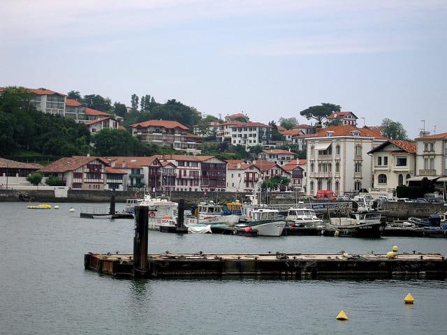 Le port de St. Jean de Luz