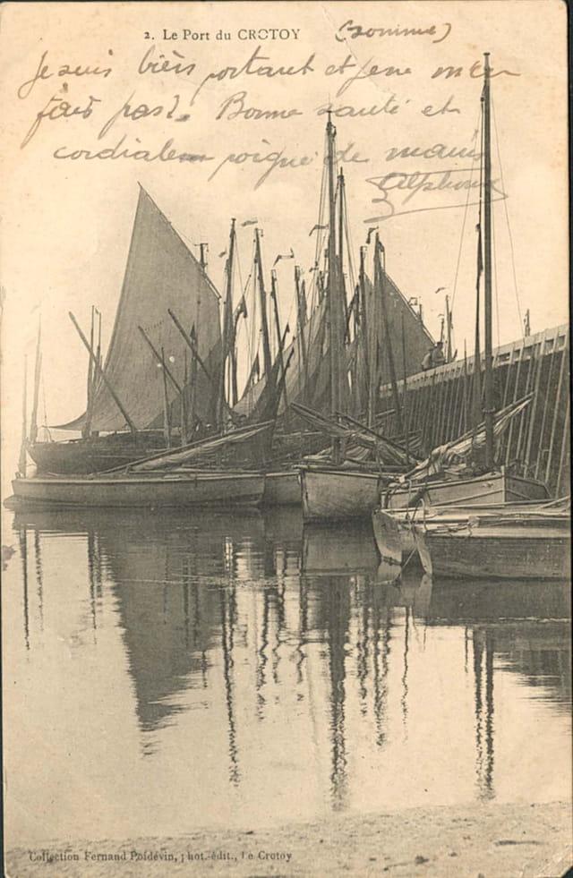 Le port et vieux greements