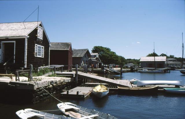 Le port musée de Mystic