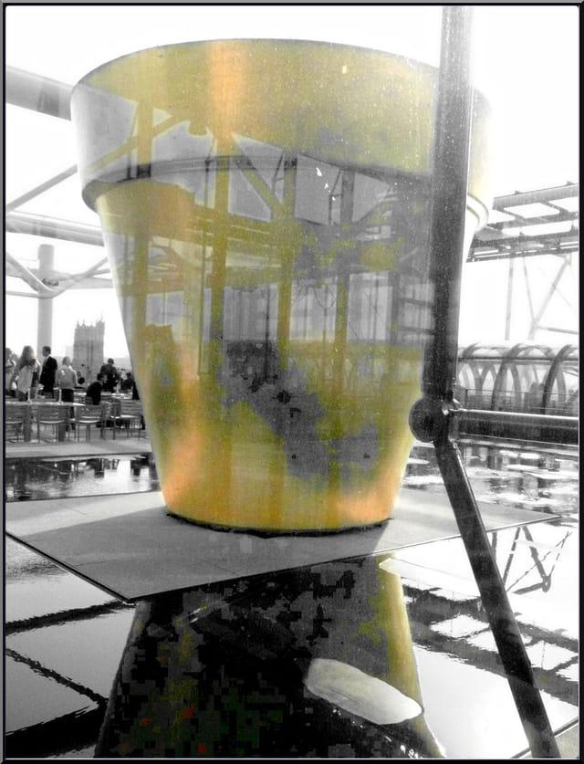 """""""Le Pot doré"""" de J.-P. Raynaud"""