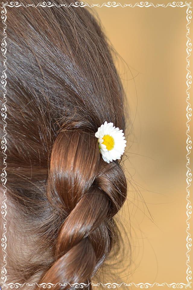 Le printemps dans les cheveux