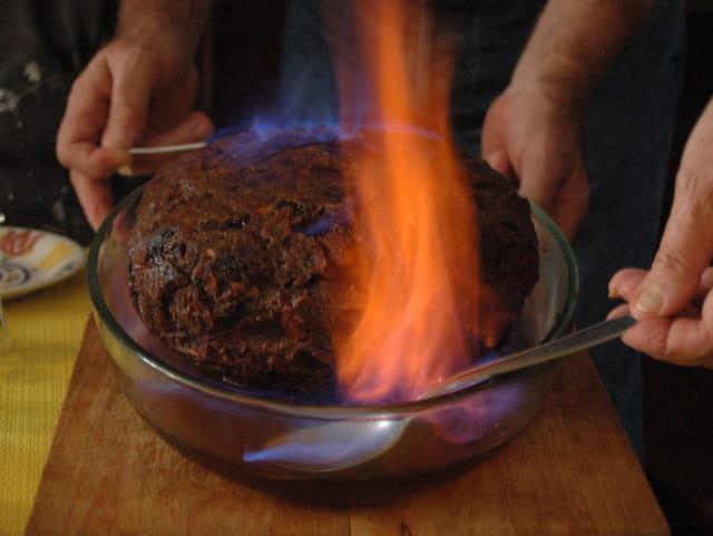 Le pudding de noël